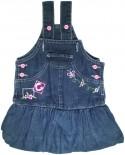Jardineira Jeans - Bebê Amasso REF. 5573