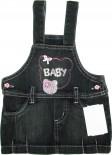 Jardineira Jeans - Bebê Love REF. 5580