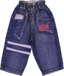 Calça Jeans Infantil - Bordado REF. 6789