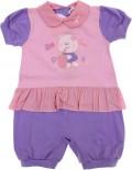 Macacão Curto - Bebê Fofura REF. 6044