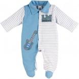 Macacão Longo - Bebê Listrado REF. 6576