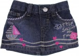 Mini Saia Jeans para Bebê - Estampas REF. 6746