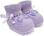 Botinha de Lã Baby Lilás 3306