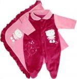 Saída de Maternidade Bebê Girl REF. 5458