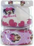 Meia com Sola Disney Minnie 5244