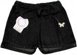 Shorts Saia Jeans Infantil Borboletinha - 4861