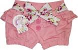 Shorts Infantil de Sarja Flower 5488