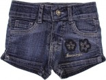 Shorts Jeans Infantil - Flores REF. 6804