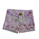 Shorts Infantil Glitter 8618