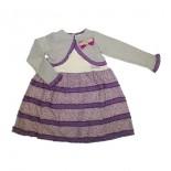 Vestido Infantil com Bolerinho - 7769