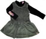 Vestido de Plush - Bebê Moranguinho REF.  5636