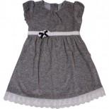 Vestido para Bebê - Preto e Branco REF. 5988