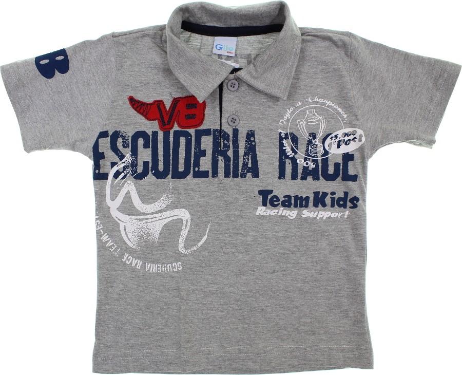 56accc9e01 Camiseta Polo Manga Curta 6029