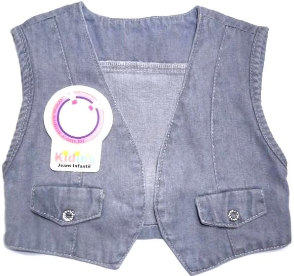 959ef31a74 Colete Jeans - Bebê Coletinho 4869