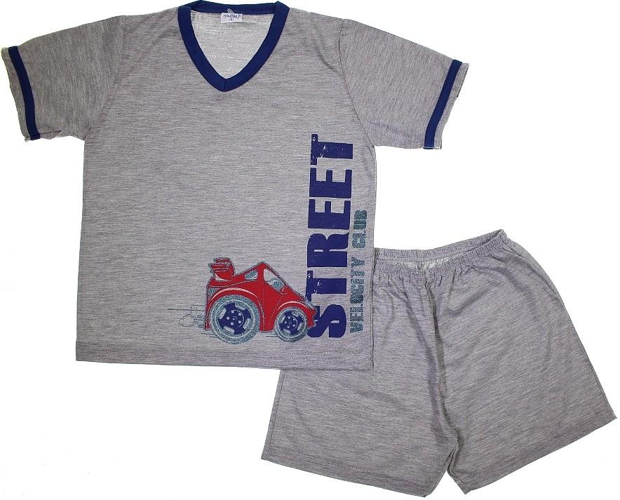 6cf7d83e68879c Pijama Infantil Curto Capitão dos Sonhos REF. 6055