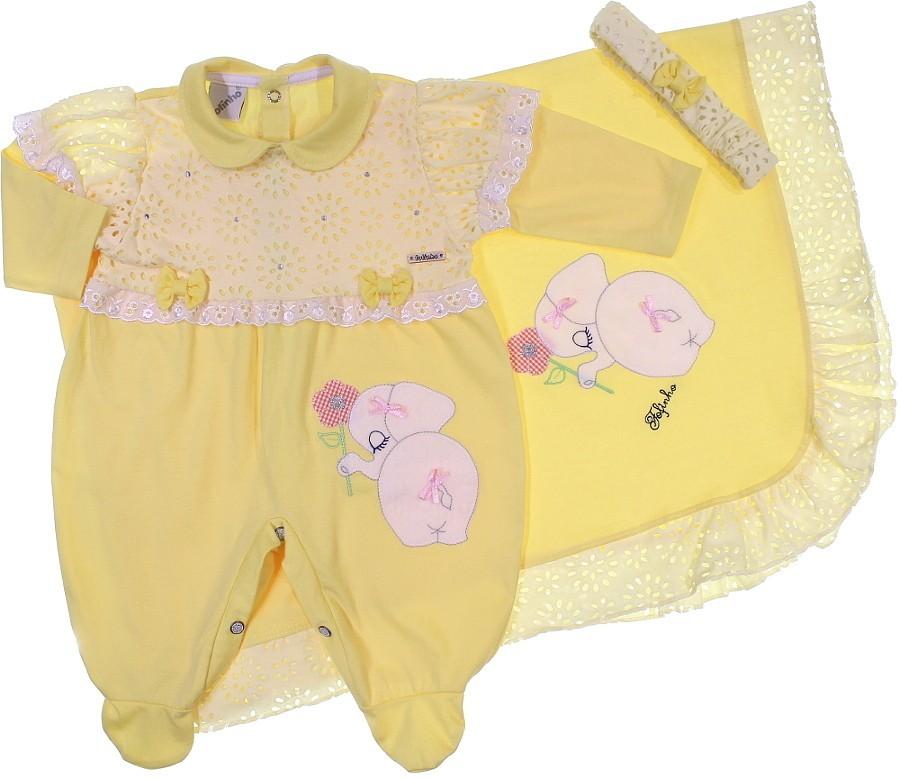 Saída Maternidade Menina - Dengo 6609 4d2a41fc52a
