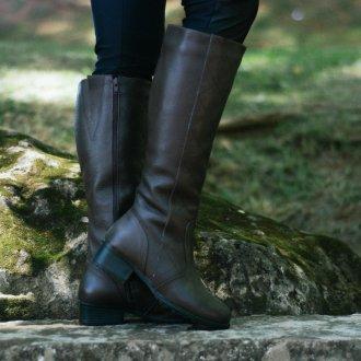 Imagem - Linha neve | bota couro forro em lã de carneiro Canadá