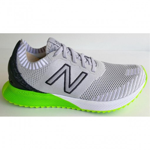 Tenis New Balance Mfceccl /verde Limao - Belinha Calçados