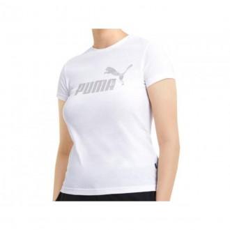 Imagem - Camiseta Puma 586890 02 Ess + Metallic Logo Tee - 5586890022