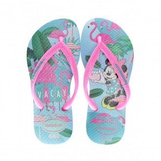 Imagem - Chinelo Havaianas 4130287 Kids Disney Cool Ice Blue/maravilh - 6141302875