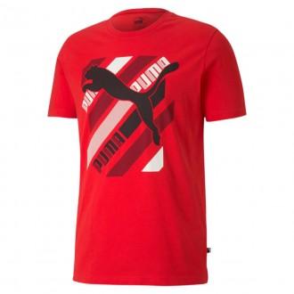 Imagem - Camiseta Puma 581909 Cat Brand Graphic Tee - 5581909116