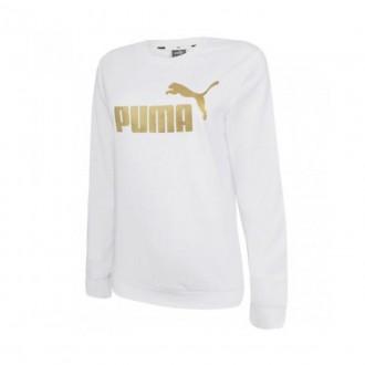 Imagem - Blusao Puma 586894 Ess+metallic Logo Crew tr - 5586894022