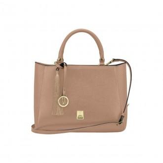 Imagem - Bolsa Vizzano 10011.1 Napa Soft Bag Neo/vz Escama Gloss Nud - 3310011.121837510000755