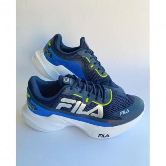 Imagem - Tenis Fila F04k002-4835 Recovery Marinho/prata/limao - 57F04K00248355
