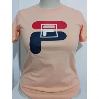 Imagem - Camiseta Fila F12l034 2586 Graphic  Pastel - 57F12L0342586510001507