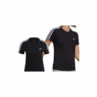 Imagem - Camiseta Adidas Gl0784 3 Listras Feminina - 3GL07841