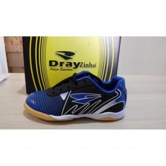 Imagem - Tenis Futsal Dray 119 10.15 /azul - 20001611910.15061