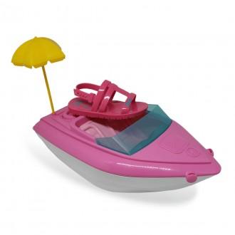 Imagem - Sandalia Grendene 22002 Barbie Iate Rosa Camelia/rosa - 2422002510001010