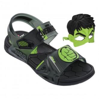 Imagem - Sandalia Grendene 21998 Marvel Hulk Hero Glasses /verde - 2421998205341
