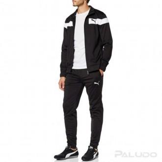 Imagem - Agasalho Puma 581595 Techstripe Tricot Suit cl - 5581595011