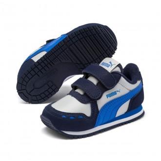 Imagem - Tenis Puma 351980 Cabana Racer sl v Kids /cinza - 5351980825