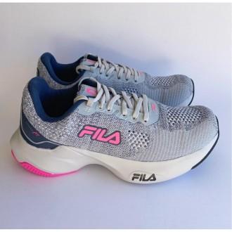 Imagem - Tenis Fila F02at004135 Fit Prata/marinho/rosa Fluor - 57F02AT004135320857