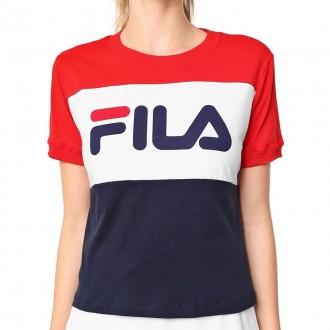 Imagem - Camiseta Fila Ls180599 Maya Verm/bco/mar - 57LS1805996306