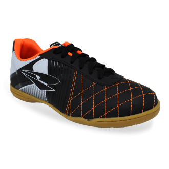 Imagem - Tenis Futsal Dray 370 10.22 Preto/laranja - 200016370t50105111