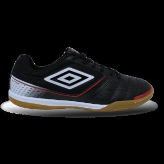 Imagem - Tenis Futsal Umbro Of72128 Match /branco/vermelho - 8OF721281