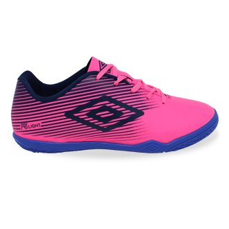 Imagem - Tenis Futsal Umbro Of82058 f5 Light jr Fluor Pink/navy/royal - 8OF8205890751407341