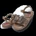 Sandalia Molekinha 2700.102 Maxxi Gliter Glamour/metal Glamo 4