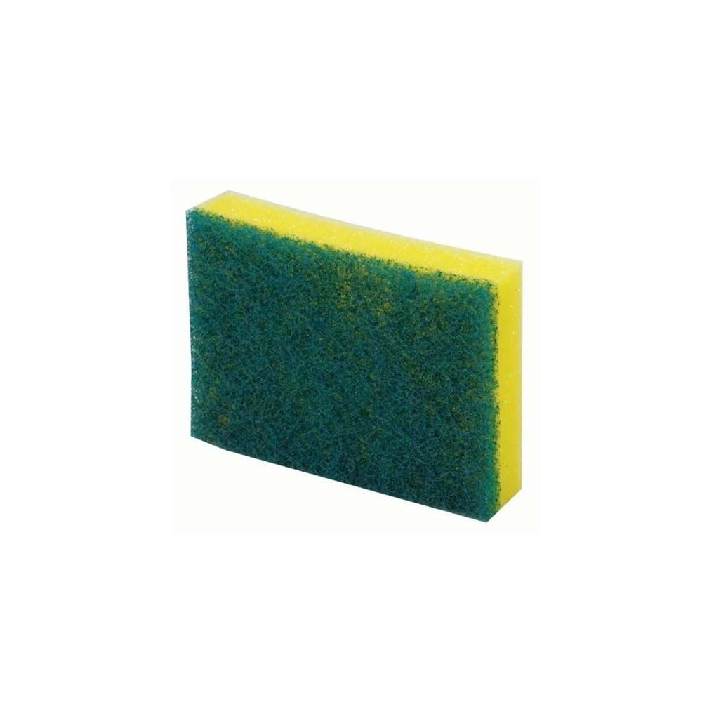 Imagem - Esponja Dupla Face Bettanin   Cor: Verde/Amarelo cód: 12-0002