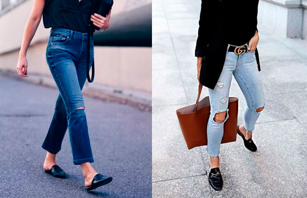 mule com jeans?
