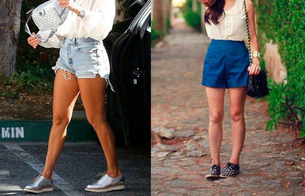 oxford e shorts