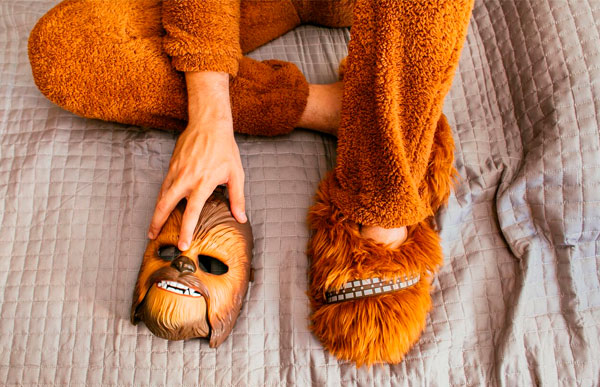 pantufa do chewbacca