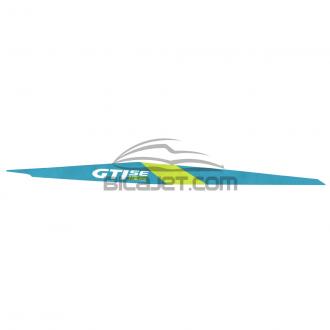EMBLEMA LATERAL SEA GTI SE 155 2016 AZUL / VERDE LD DIR. ORIGINAL