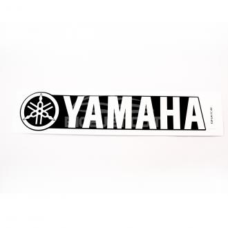 EMBLEMA LATERAL YAMAHA 4T 14+ PRETO/BRANCO OEM