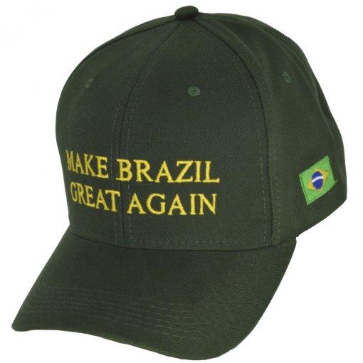 Boné Big Cap Make Brazil Great Again