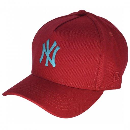 Boné New York Logo cores metalizadas