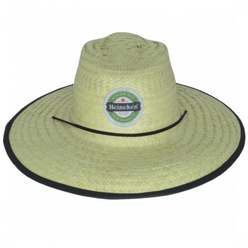 Chapéus de Palha Logo Frontal (Pequeno)